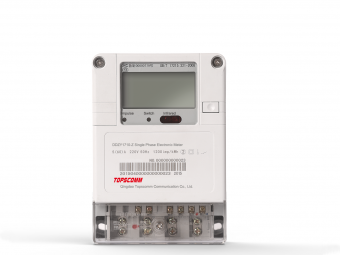Single Phase PLC elektronische Energiezähler