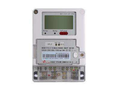 Single Phase Smart Energy Meter